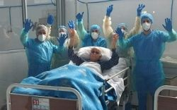 imagem do post do EMAH dá alta ao último doente com COVID-19